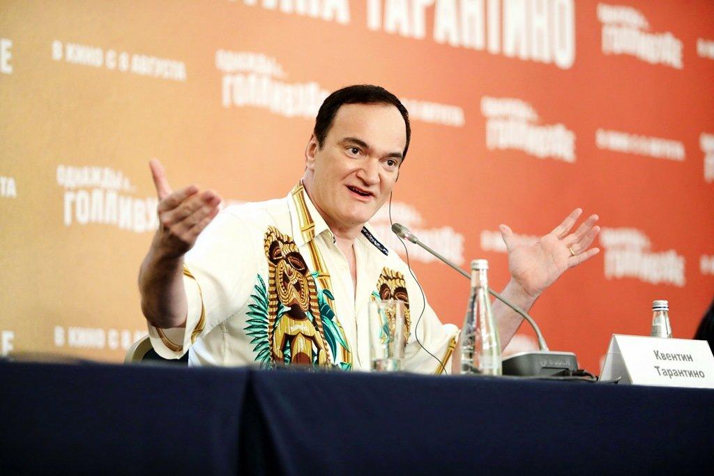 Квентин Тарантино представил в Москве свой 9-й фильм «Однажды в... Голливуде»