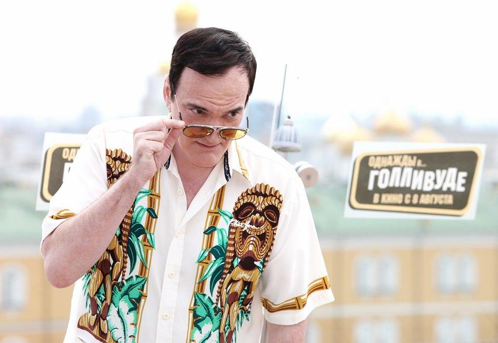С видом на Кремль: фотоколл Тарантино и продюсеров «Однажды в... Голливуде»