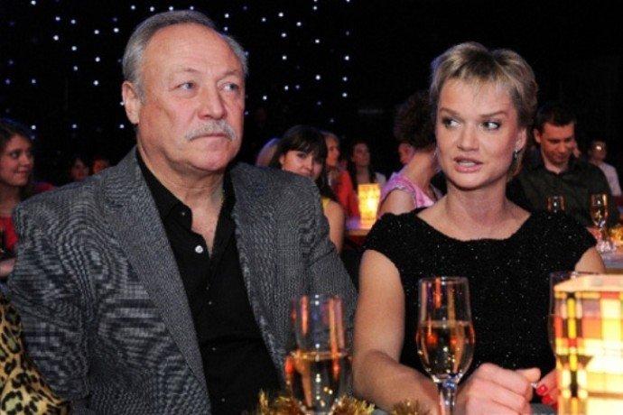 40-летняя Светлана Хоркина беременна от своего 63-летнего супруга