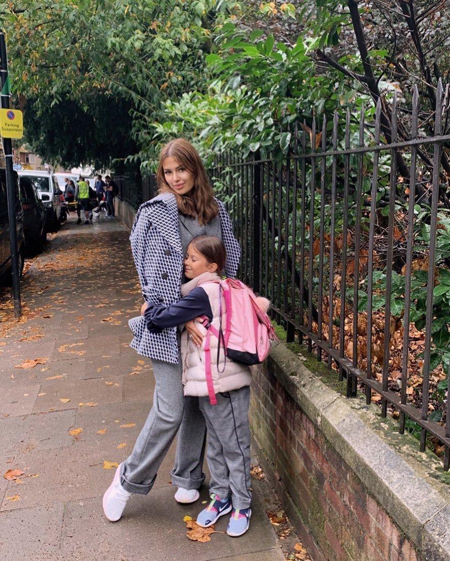 Виктория Боня выбрала для дочери новую школу