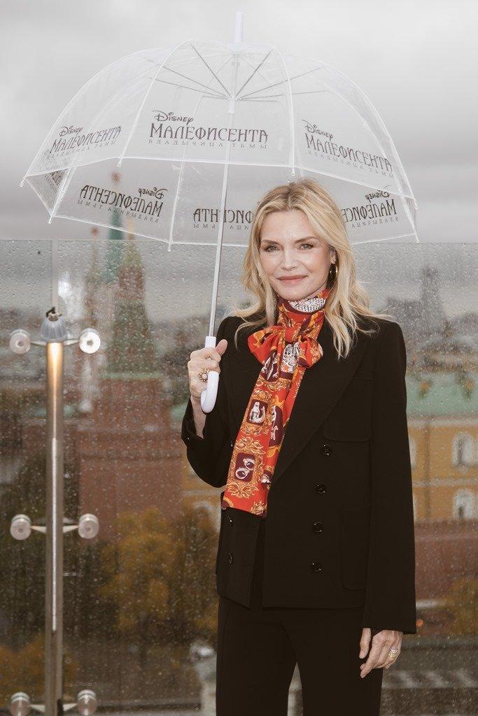 Мишель Пфайффер представила фильм «Малефисента: Владычица тьмы» в Москве