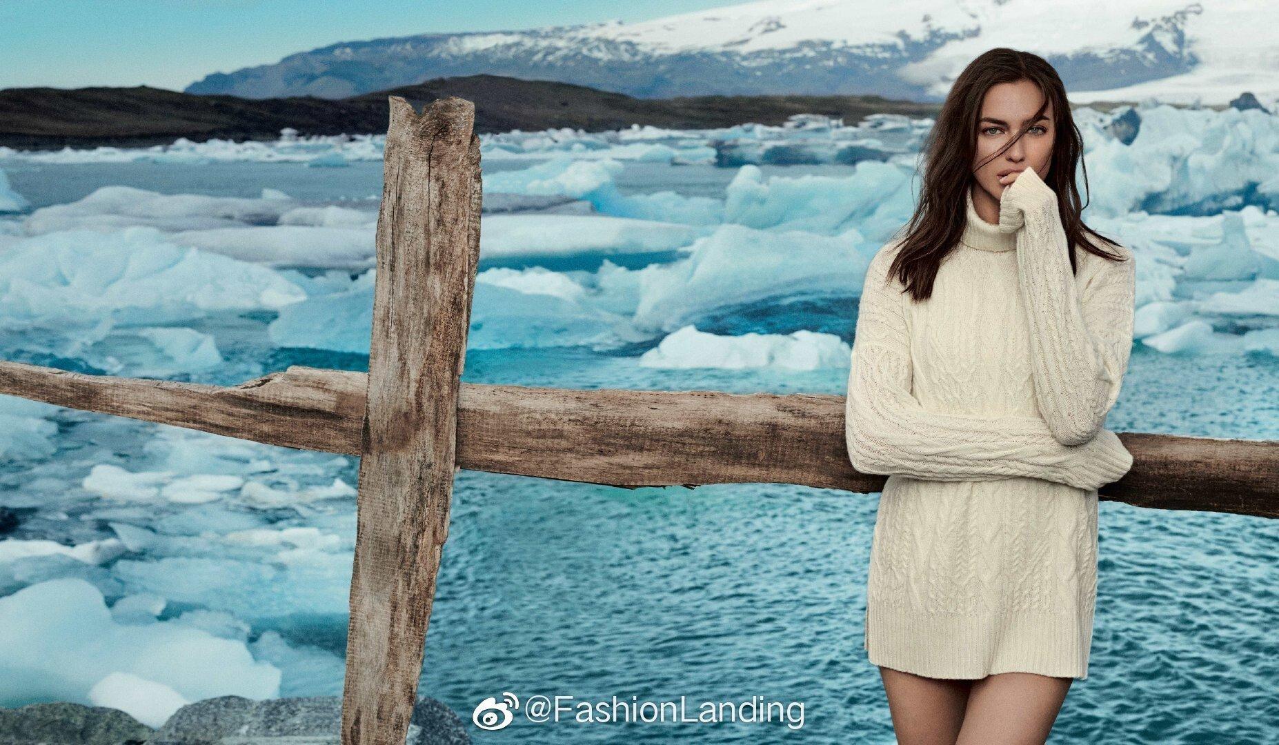 Снежная королева: Ирина Шейк снялась в необычной фотосессии в Исландии