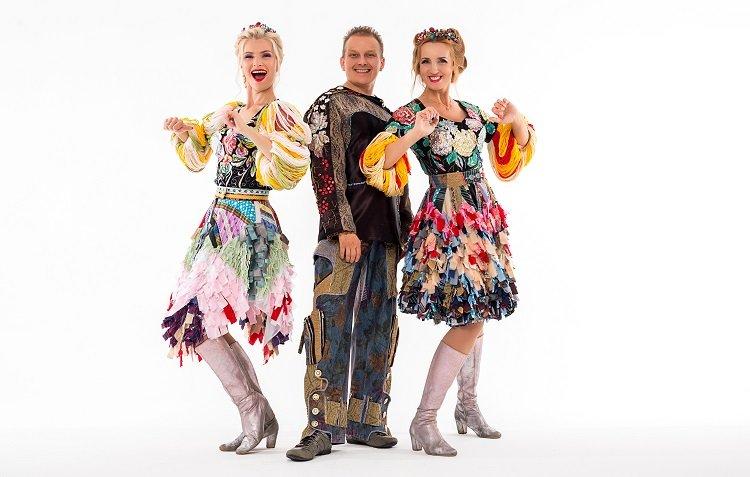 Группа «Балаган Лимитед», Наталия Иванова и Даниил Иванов записали крутую песню в современном русском народном стиле