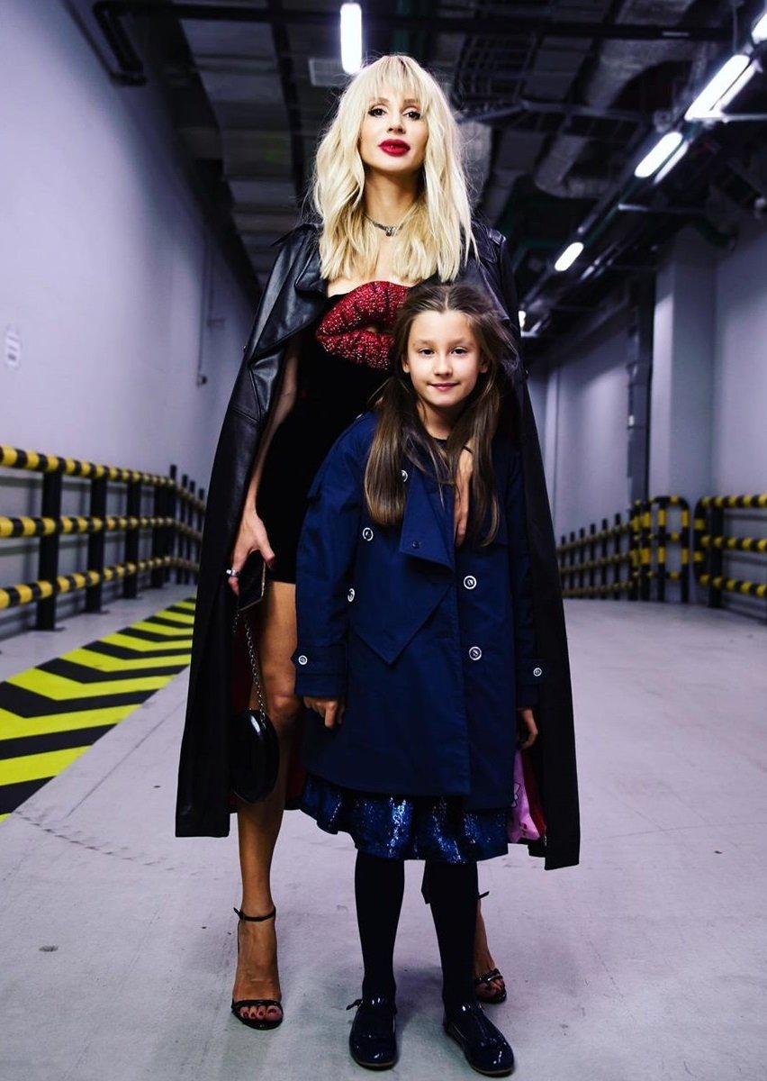 Певица Светлана Лобода снимает дочку Еву против её воли