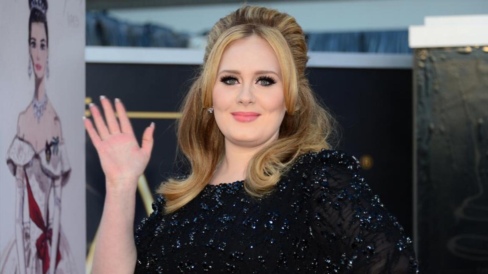 Певица Адель похудела на 45 килограммов