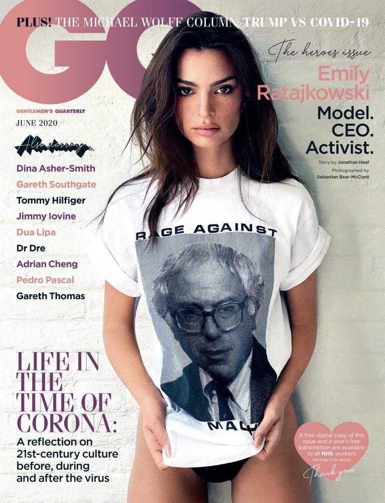 Эмили Ратаковски снялась в нетрадиционной для себя фотосессии для GQ