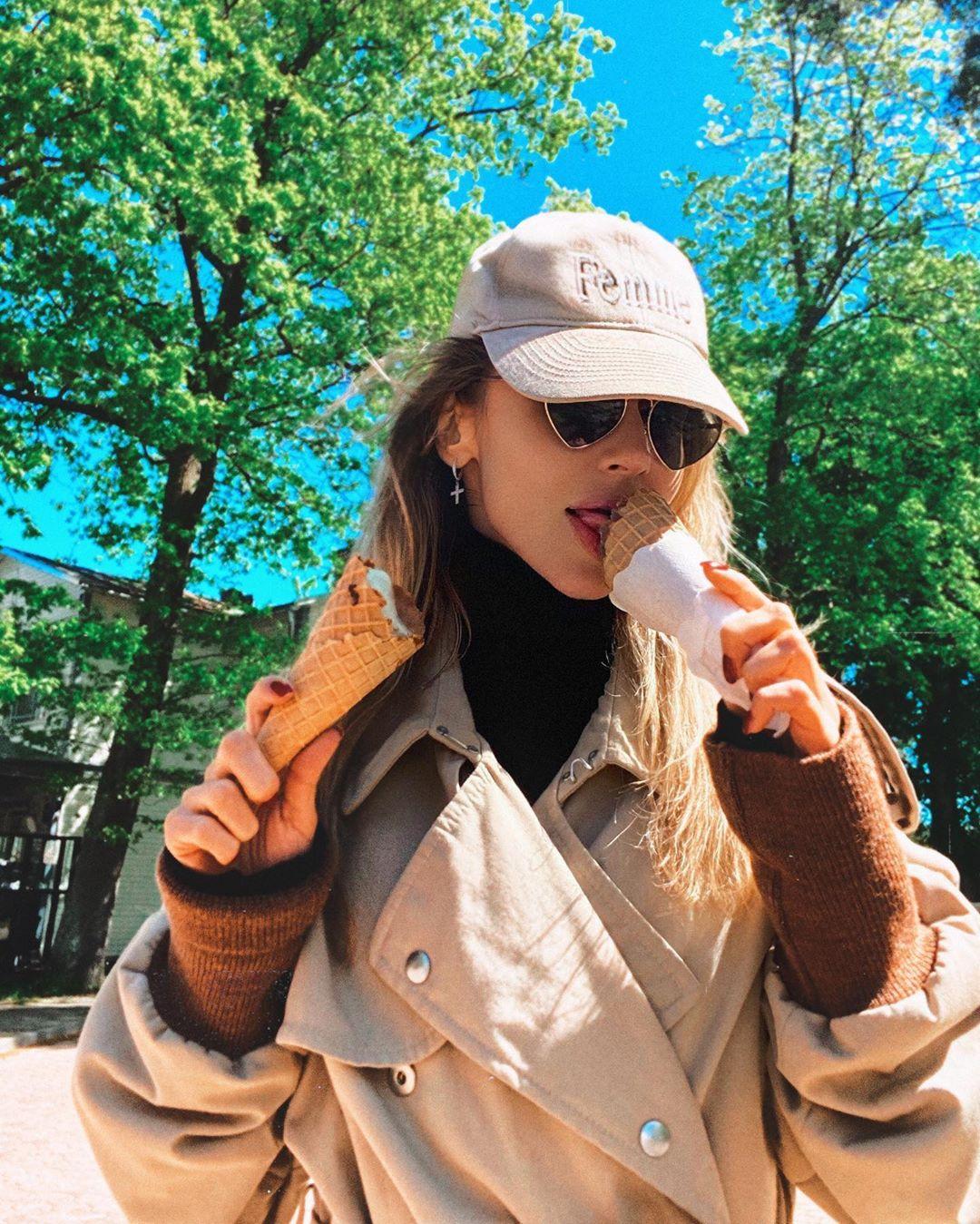 Благодаря карантину Светлана Лобода смогла съесть мороженое