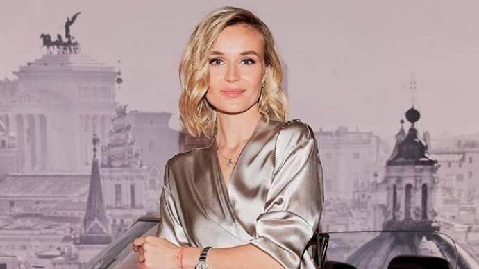 Полина Гагарина впервые после развода вышла в свет