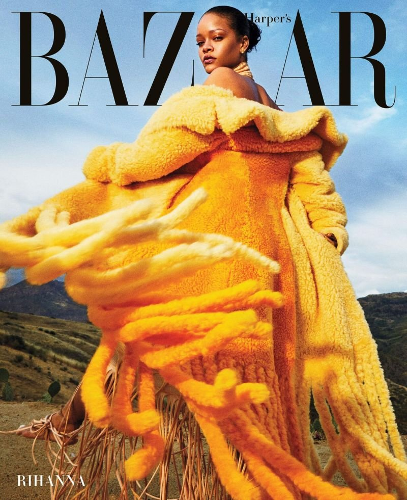 Рианна появилась на обложке сентябрьского Harper's BAZAAR 2020