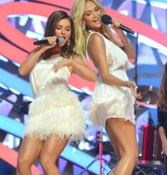 Виктория Лопырёва, поздравляя Нюшу, вспомнила о своём вокальном опыте