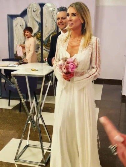 Светлана Бондарчук вышла замуж в платье за 700 тысяч рублей