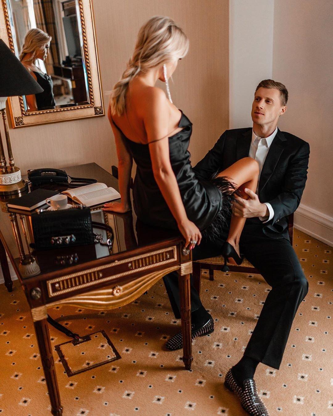Мария Погребняк показала романтичную фотосессию с мужем