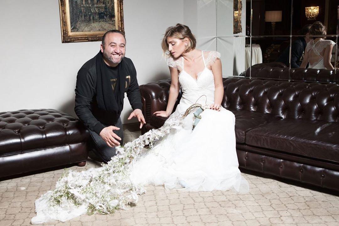 Подруга Максима Виторгана Нино Нинидзе показала фото в свадебном платье