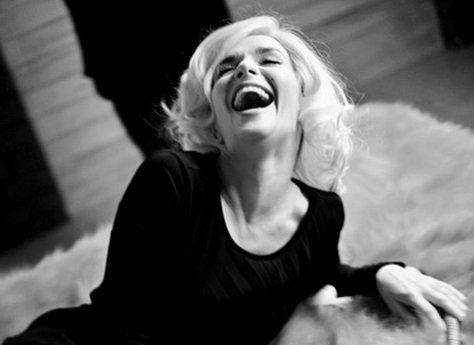 Наталья Орейро снялась для фотосессии в стиле Мэрилин Монро
