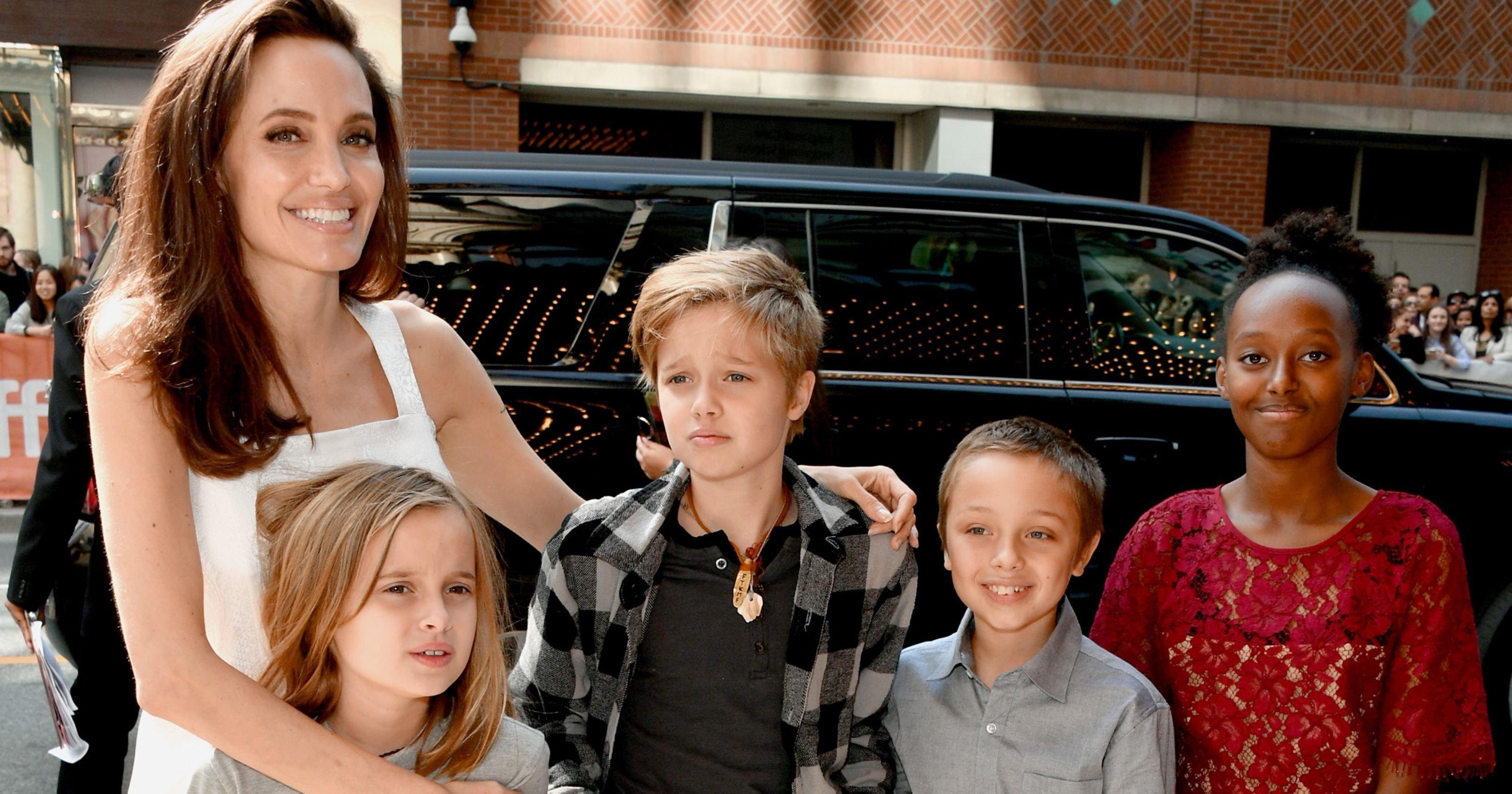 Дочь Анджелины Джоли и Брэда Питта примерила женский образ