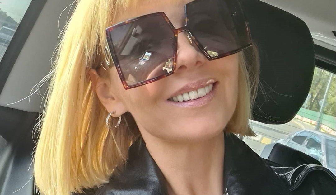 Валерия примерила образ стильной рокерши