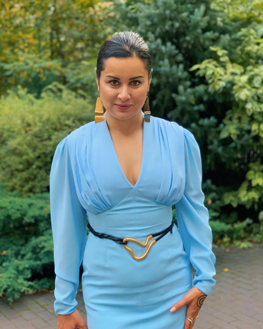 Тина Канделаки набрала лишний вес и просит совета у подписчиков
