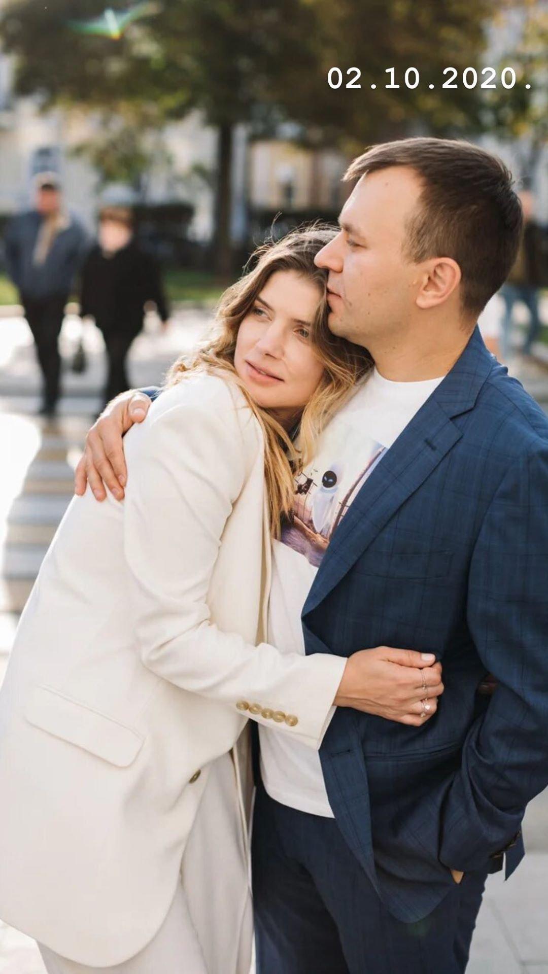 Настя Задорожная вышла замуж