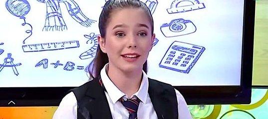 Дочь Юлии Началовой впервые выступила на телевидении
