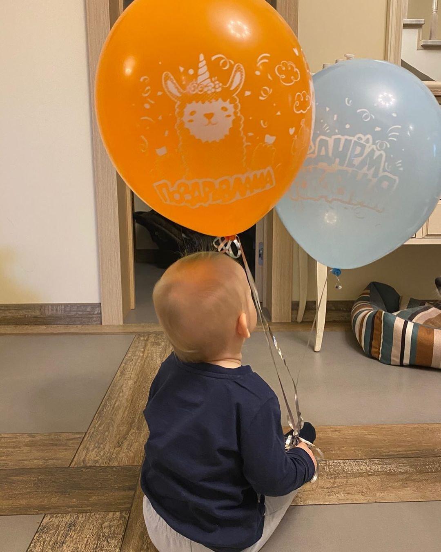 Светлана Хоркина опубликовала снимок годовалого сына