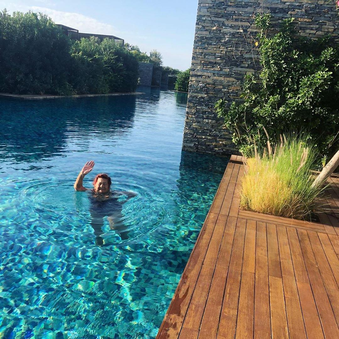 Наталья Водянова отправила маму и родственников на отдых в Турцию