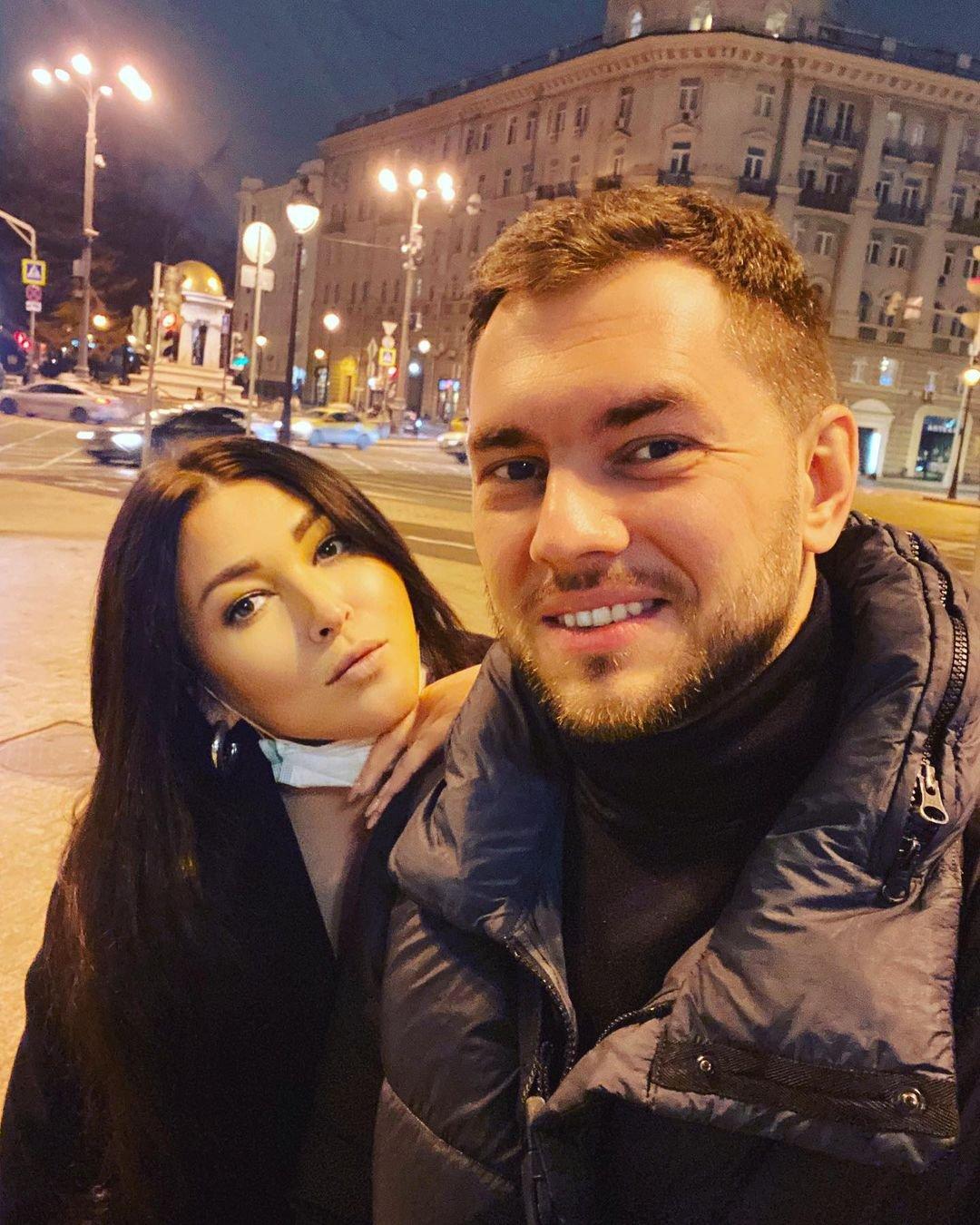 Ирина Дубцова была замечена с бывшим возлюбленным