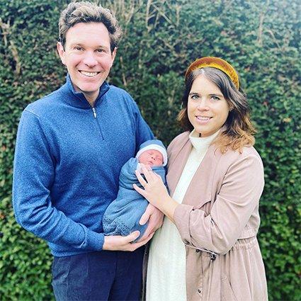 Принцесса Евгения показала первое фото своего ребенка