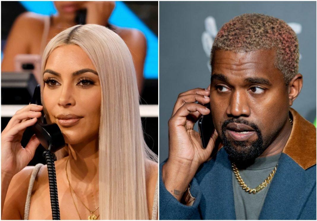 Канье Уэст сменил телефонные номера, чтобы не общаться с Ким Кардашьян напрямую
