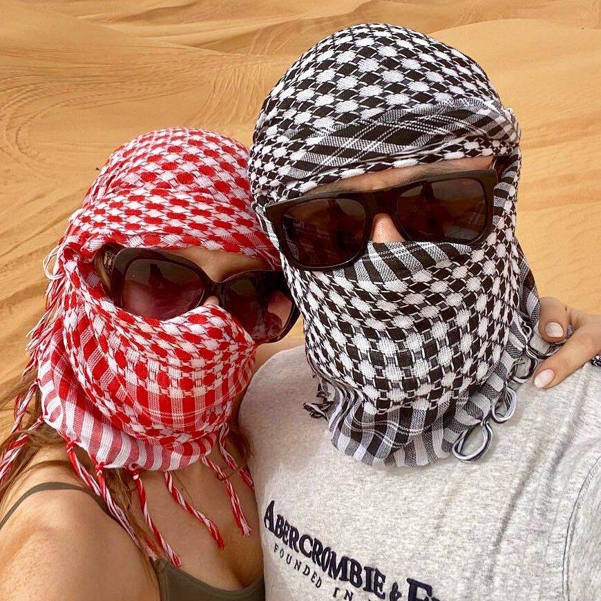 Лиза Арзамасова и Илья Авербух отдыхают в Дубае