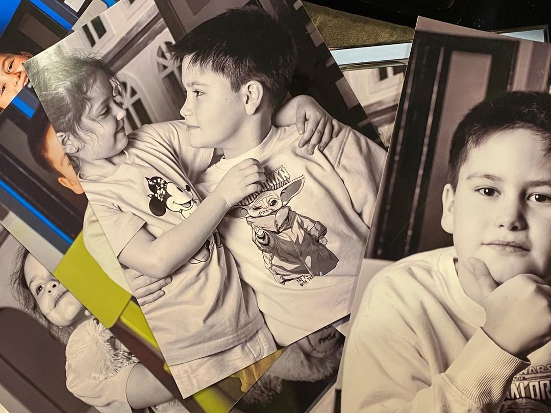 Павел Прилучный показал фото сына, который стал копией Агаты Муцениеце