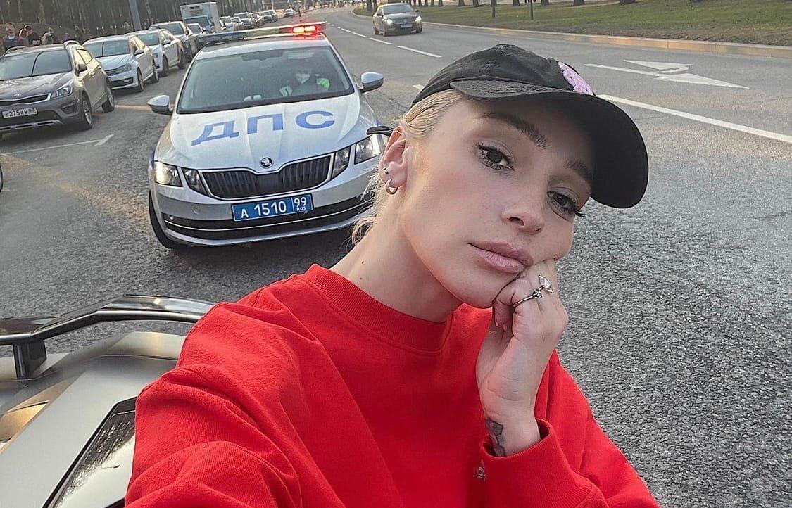 Настю Ивлееву оштрафовали сотрудники ГИБДД