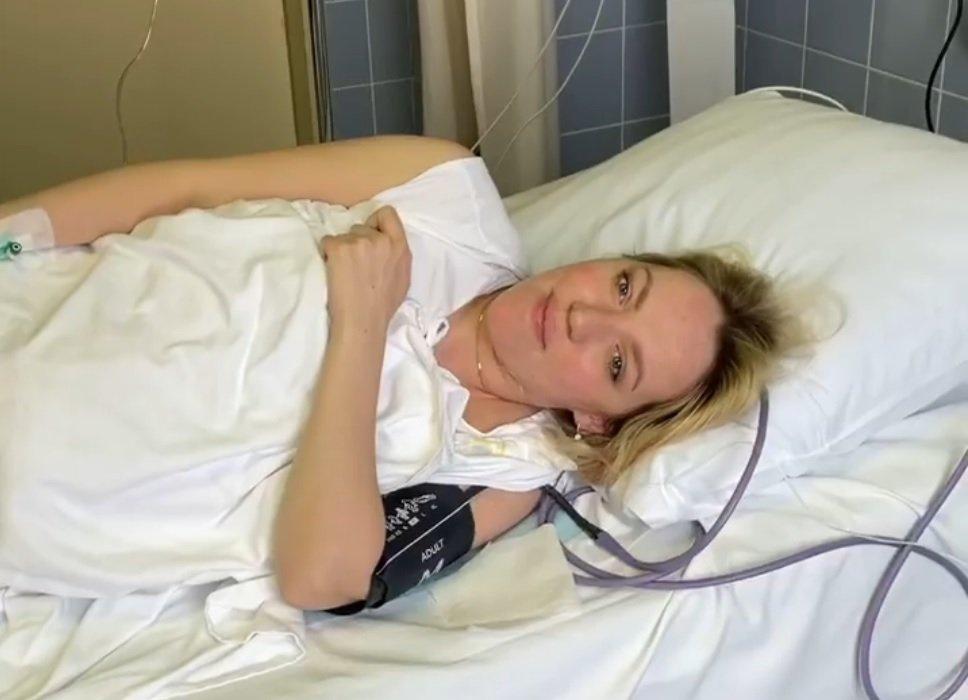 Галина Боб выписалась домой после третьих родов