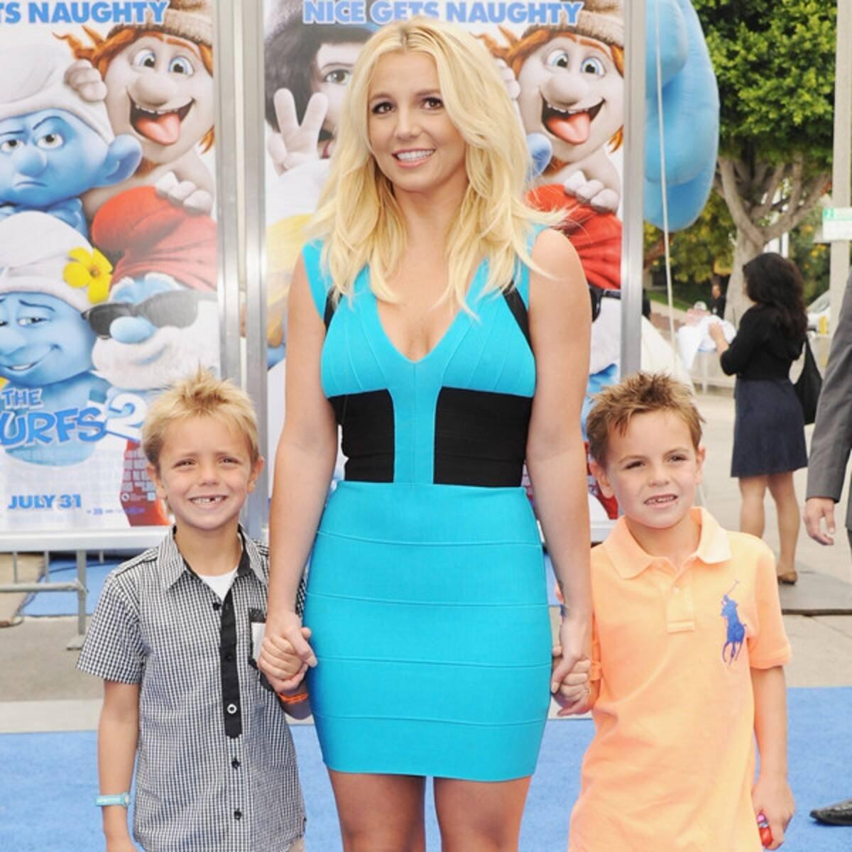Пользователи сети восхищаются красотой старшего сына Бритни Спирс