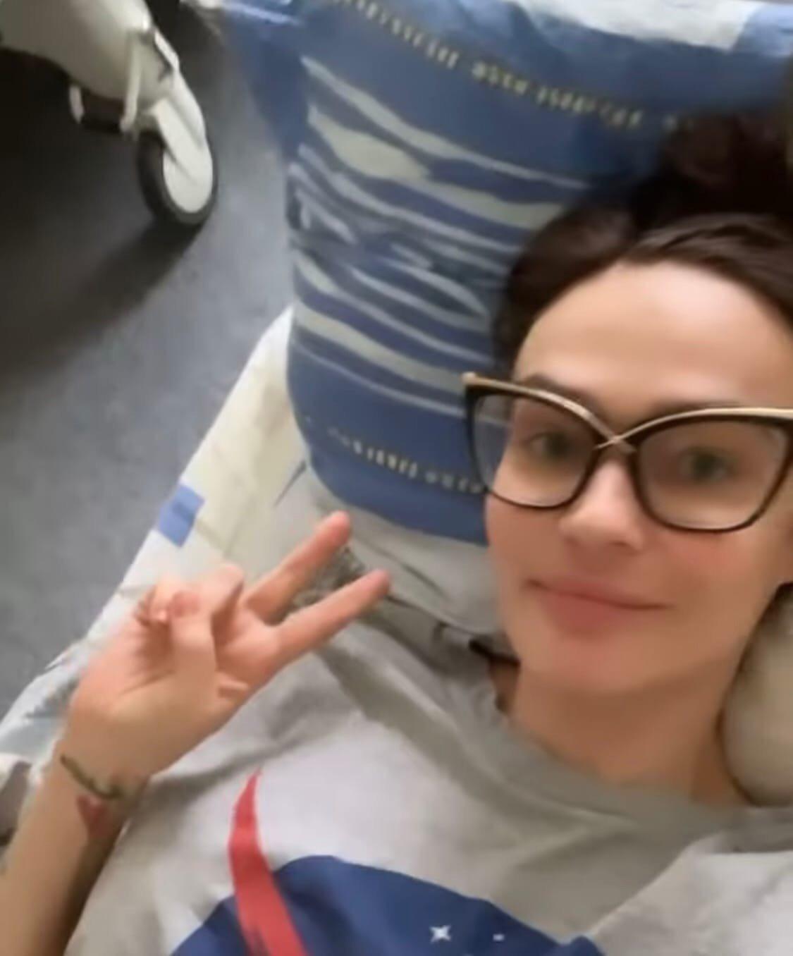 Алёна Водонаева рассказала о своей госпитализации