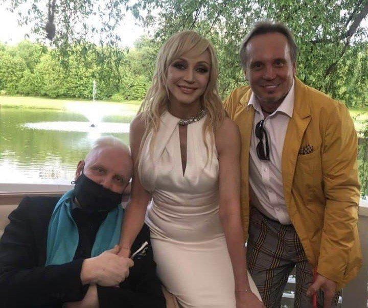 Тяжелобольной Борис Моисеев пришёл на юбилей Кристины Орбакайте