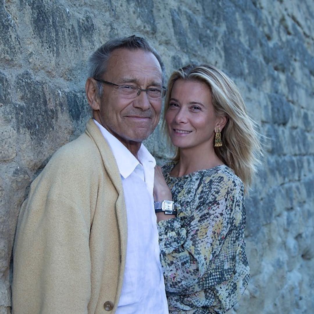 Юлия Высоцкая поздравила Андрея Кончаловского с 25-летием со дня встречи