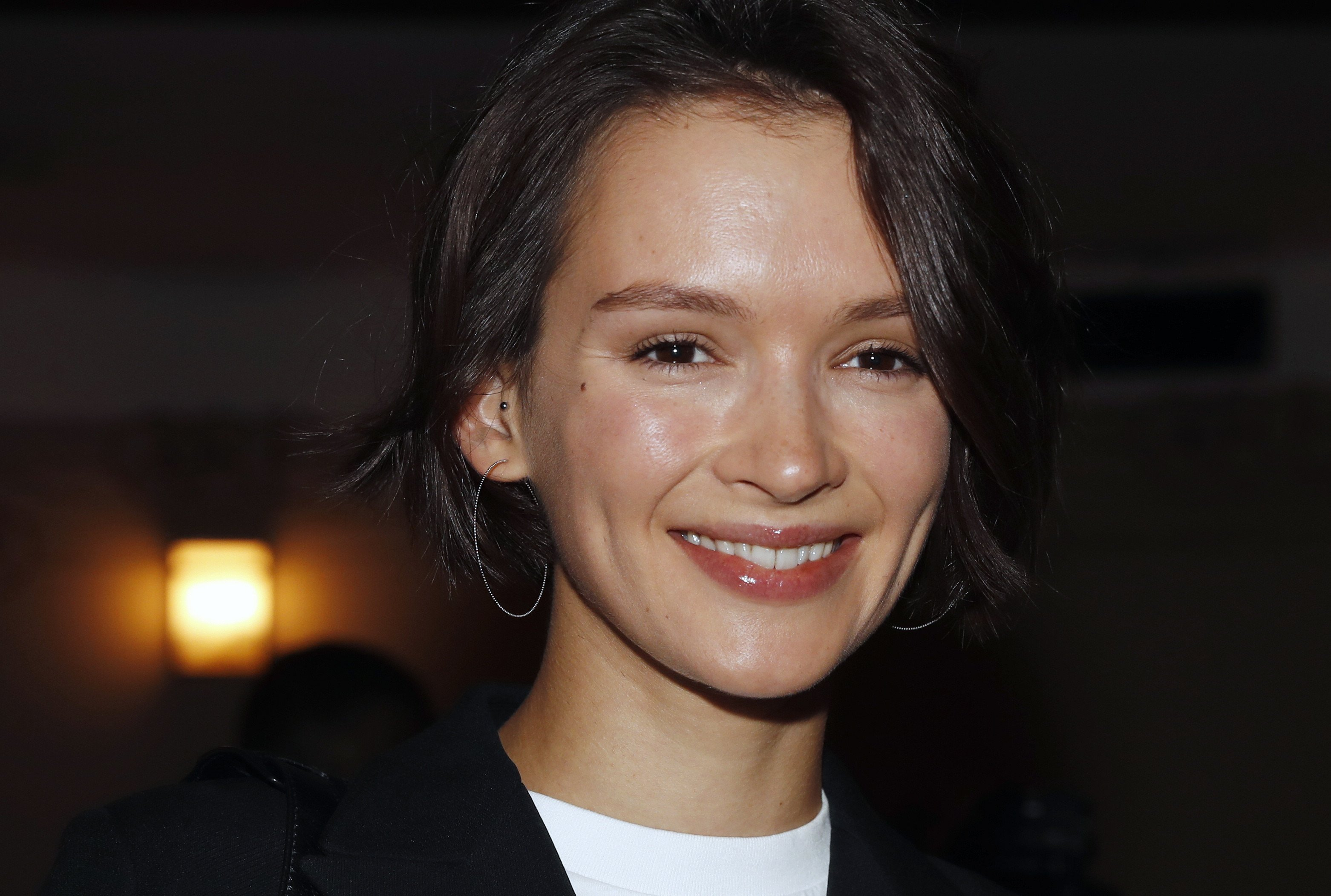 Паулина Андреева впервые появилась на мероприятии после рождения сына