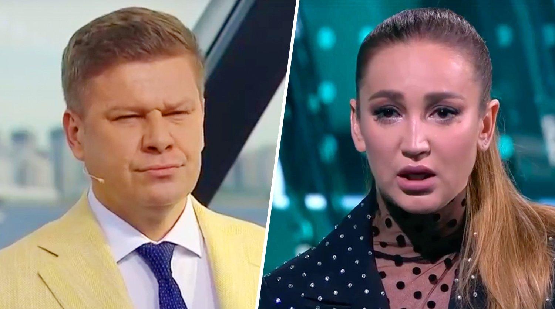 Иван Ургант пошутил над Дмитрием Губерниевым из-за конфликта в прямом эфире