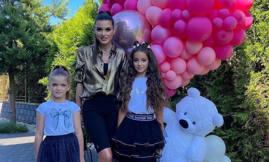 Ксения Бородина не пригласила мужа на день рождения своей старшей дочери