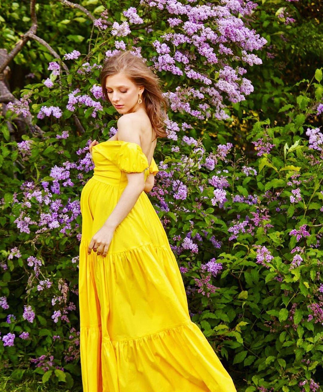 Беременная Лиза Арзамасова согласилась на фотосессию для глянца