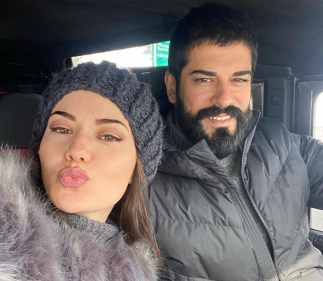 Супруга Бурака Озчивита не разрешила ему сфотографироваться с Ксенией Бородиной