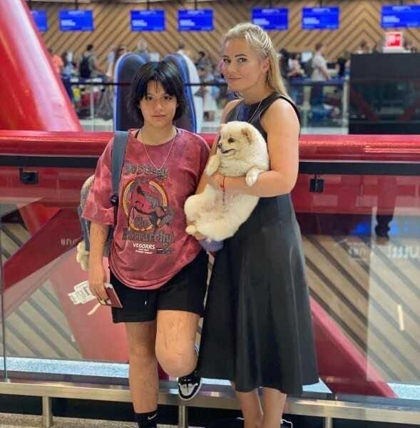 Куда Дана Борисова отправила свою дочь