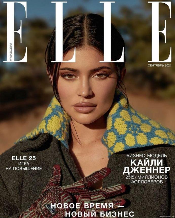 Кайли Дженнер приняла участие в съёмках для российской версии журнала ELLE