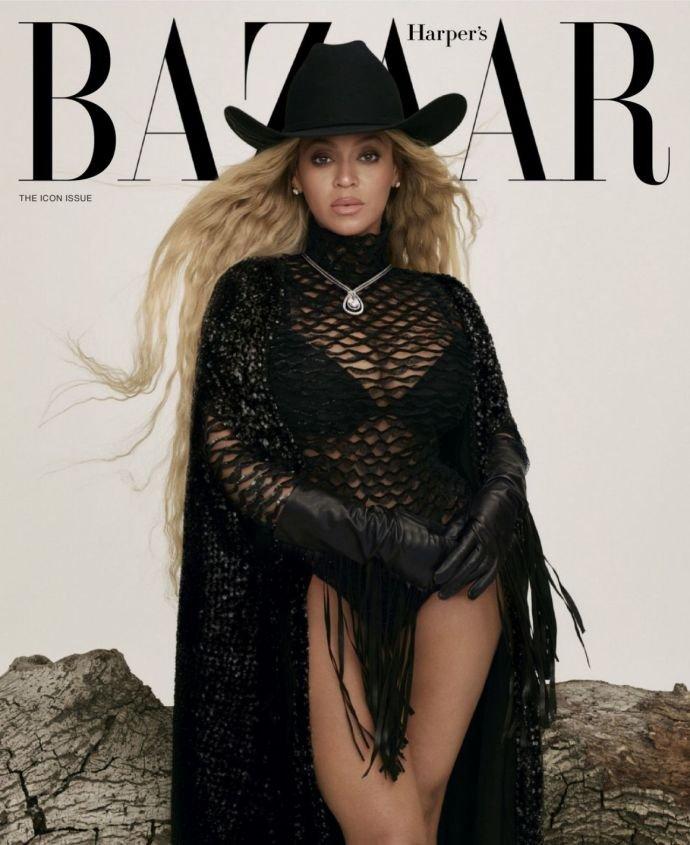 В честь 40-летнего юбилея, певица Бейонсе украсила три обложки Harper's BAZAAR