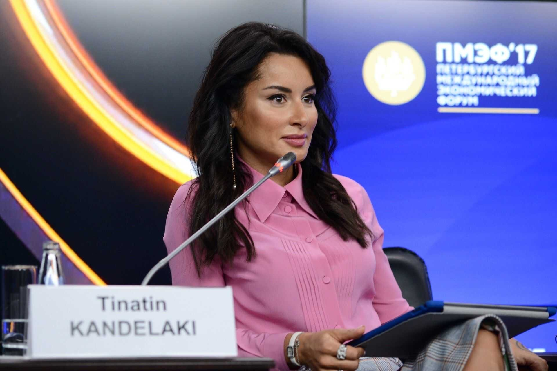 Тина Канделаки ушла с поста генпродюсера Матч-ТВ и похвасталась своей новой должностью