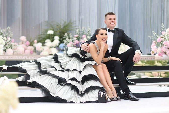 Дороже, чем у Моргенштерна: Настя Пикси и Михаил Повх сыграли роскошную свадьбу