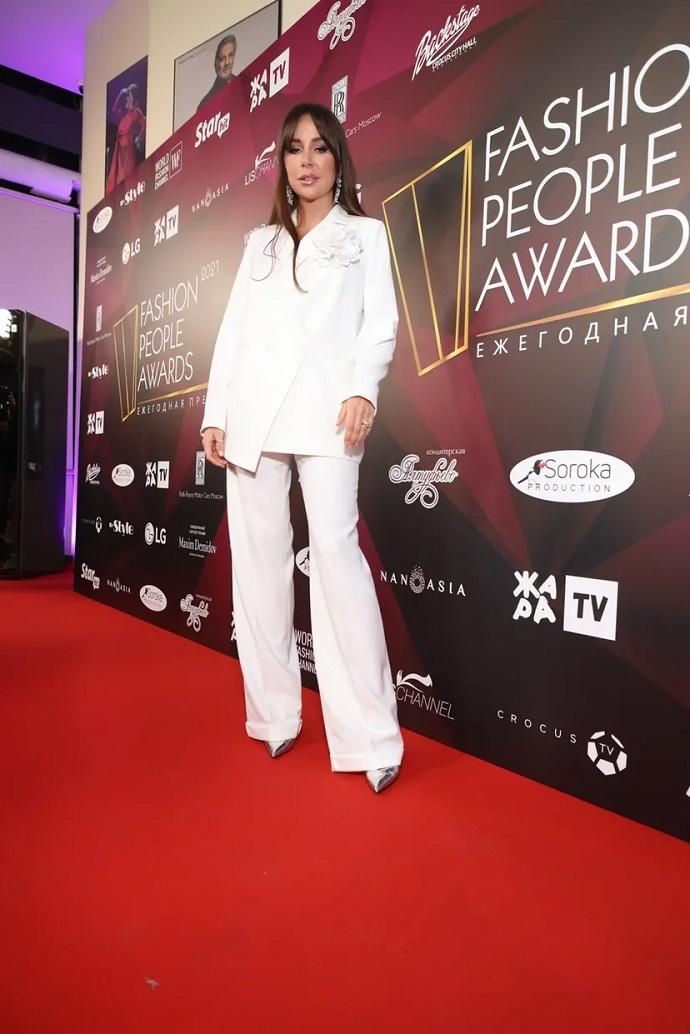 Наталья Зубарева стала обладательницей престижной премии на Fashion People Awards 2021