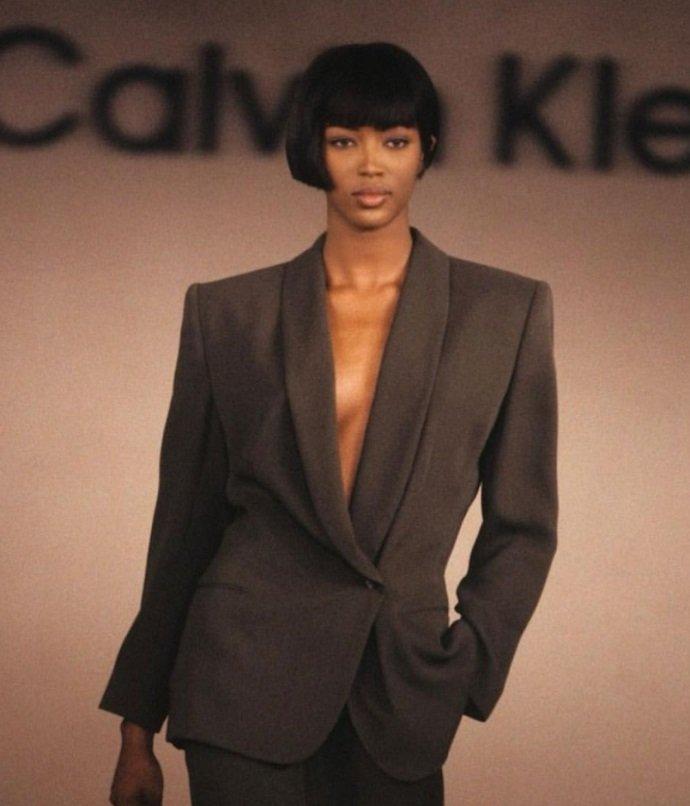 Наоми Кэмпбелл снялась в стильной фотосессии для Calvin Klein
