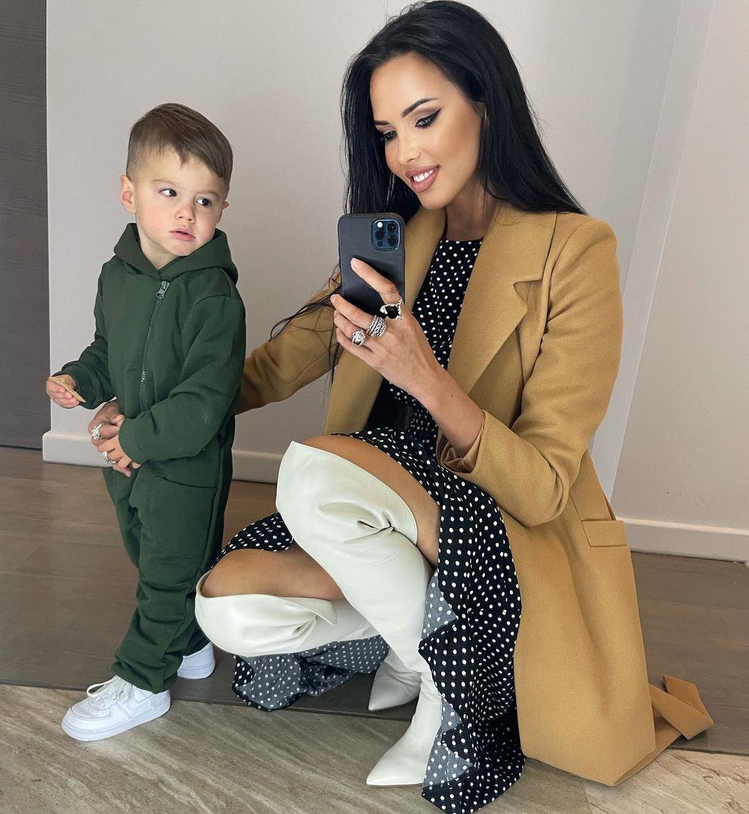 Анастасия Решетова впервые за долгое время опубликовала фото с сыном