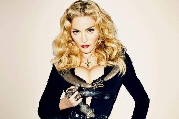 Как выглядит Мадонна без фотошопа